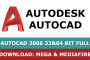 Download Autocad 2006 full and free by Mega and Mediafire