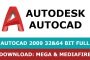 Download Autocad 2009 full and free by Mega and Mediafire
