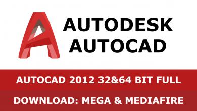 Download Autocad 2012 32&64 bit full mega mediafire free