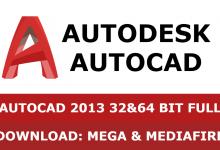 Download Autocad 2013 32&64 bit full mega mediafire free