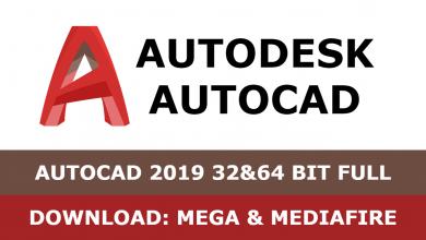 Download Autocad 2019 32&64 bit full mega mediafire free
