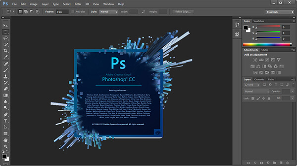 Adobe Photoshop CC 14 Portable MEGA Mediafire Download